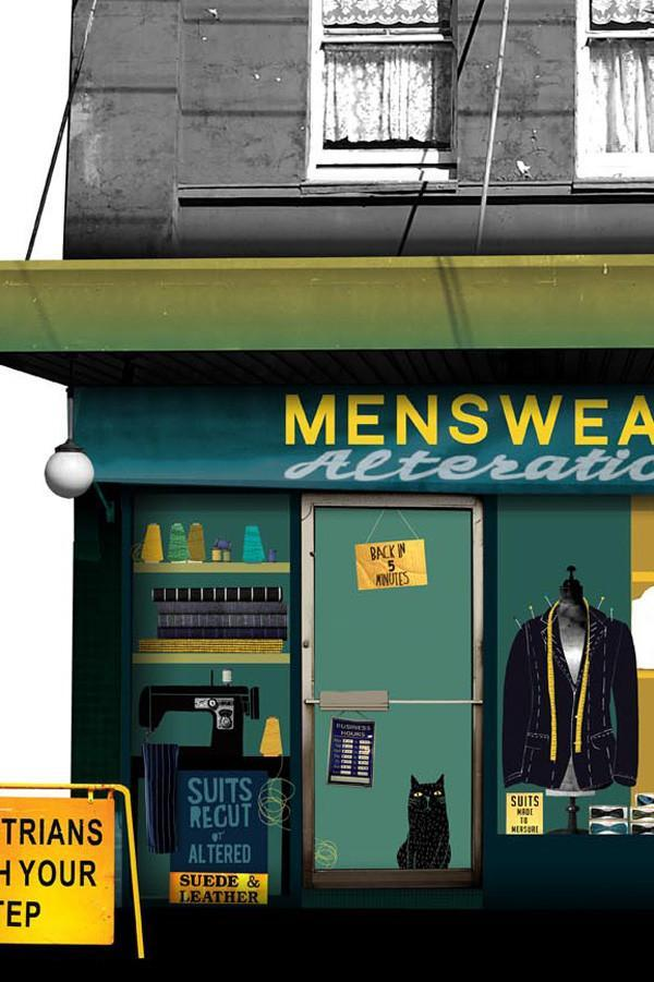 Print - Edition of 50 - Unframed A2 - Menswear Alterations
