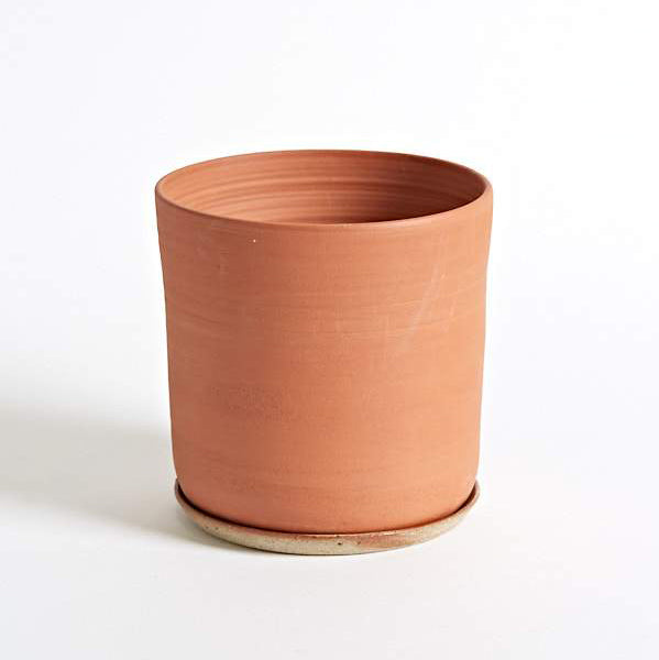 Planter and Saucer - Extra Large - Terracotta