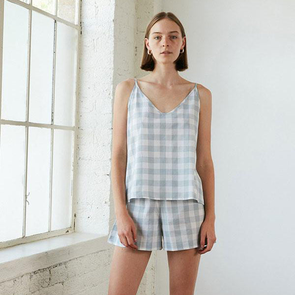 Summer Set - Mist Gingham