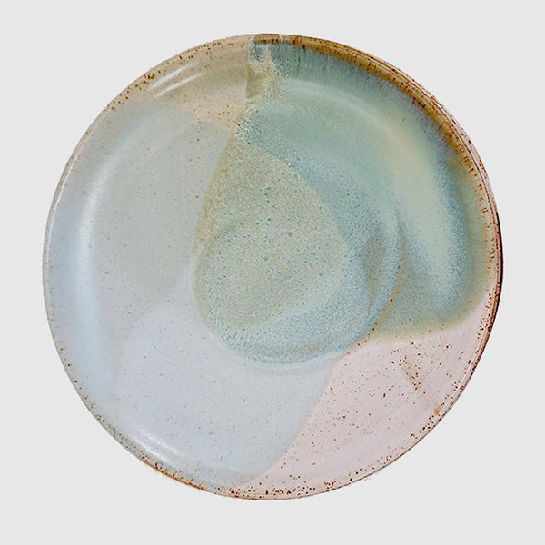 Dinner Plate - Green Pools