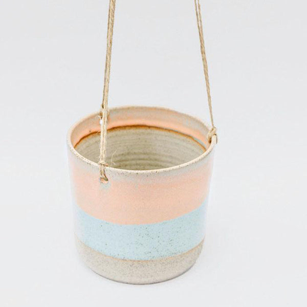 Hanging Planter - Faded Neon