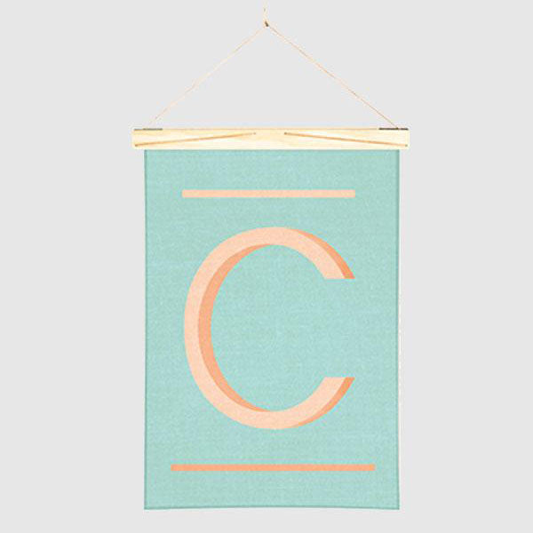 Linen Wall Hanging - C