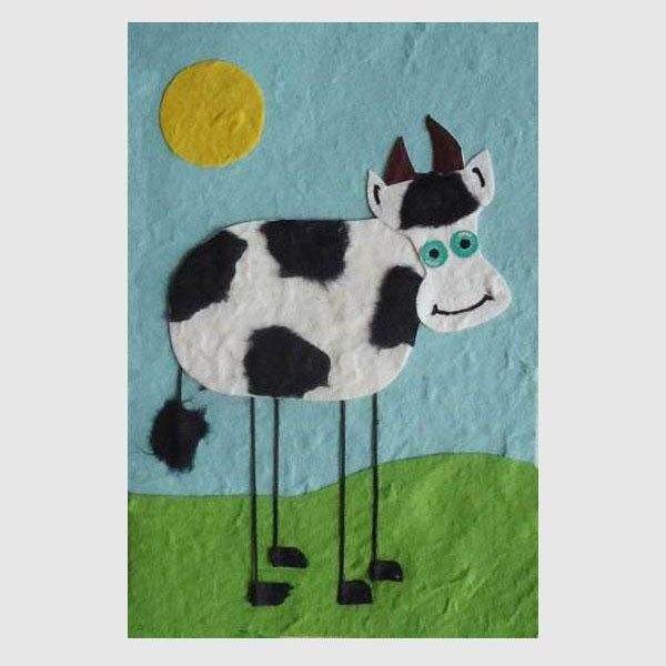 Animal Card - Cow