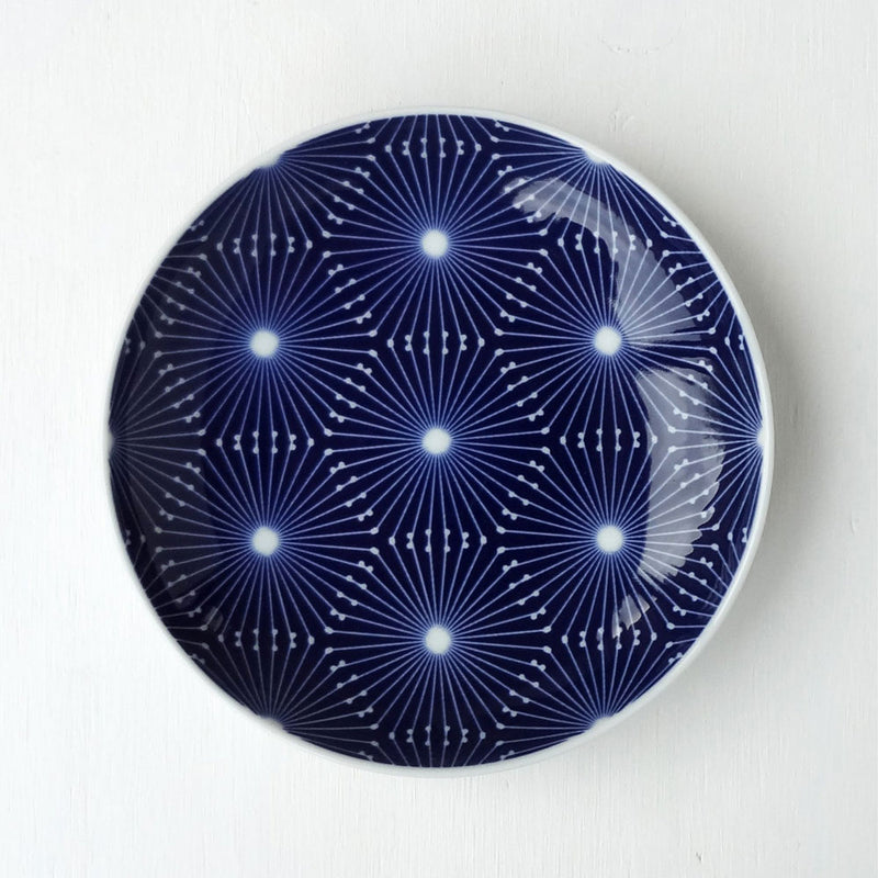 Porcelain Plate - Golden Wattle