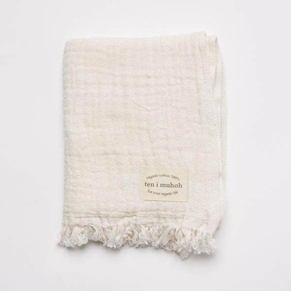 Hand Towel - Organic Cotton Muslin - ten i muhoh