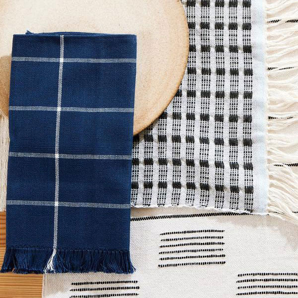 Ikat Napkins Indigo - Set of 4