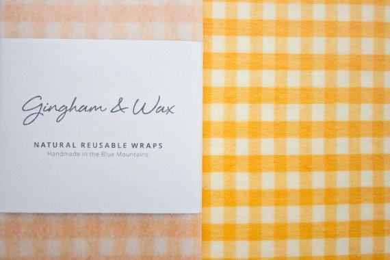 Resuable Wax Cloth - Yellow