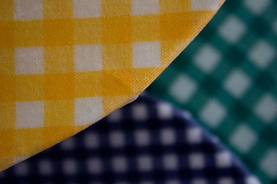 Gingham and Wax - Resuable Wax Cloth - Yellow