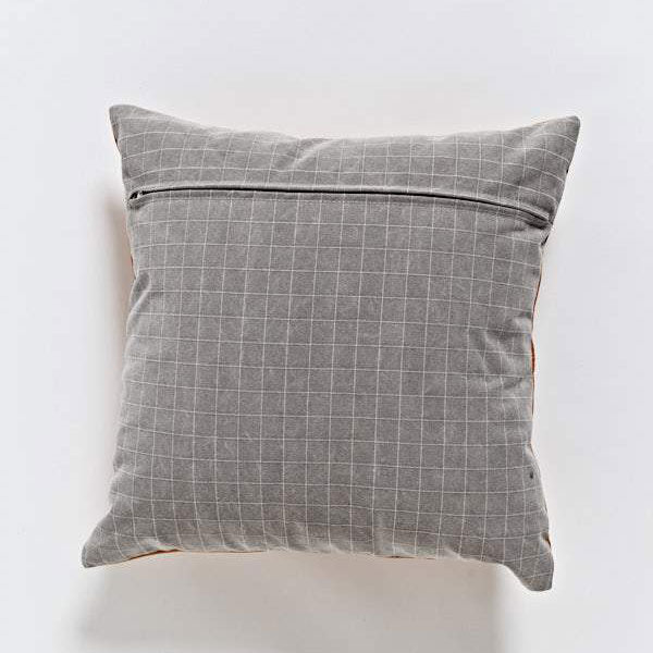 Leather Cushion - Tan