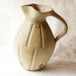 Carved Jug - Large - Light Ash