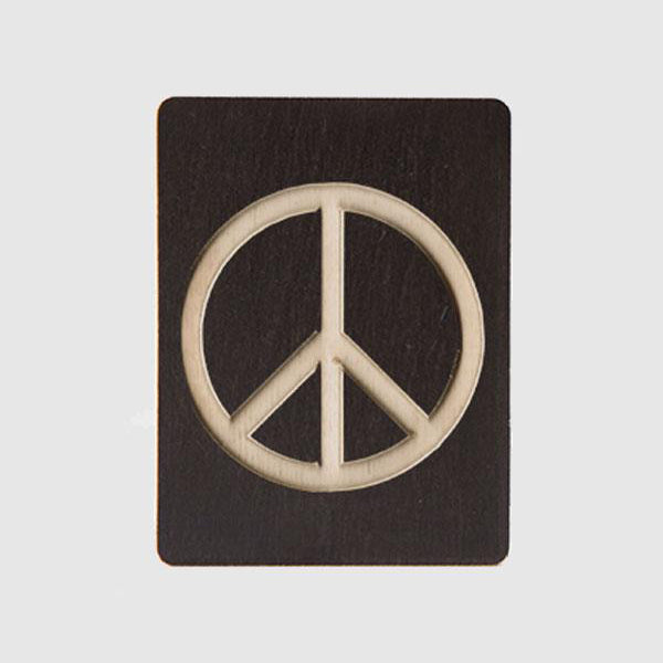Single Letter - Peace Sign