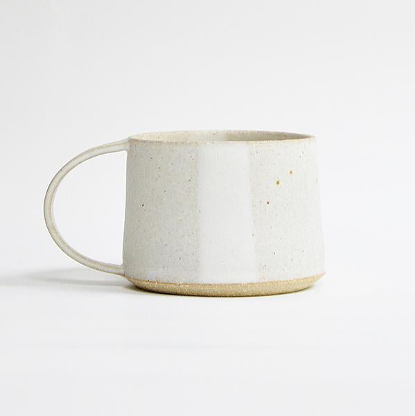 Mug - Speckled White