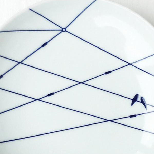 Porcelain Plate - Tramways