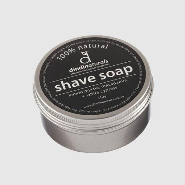 Shaving Soap Tin