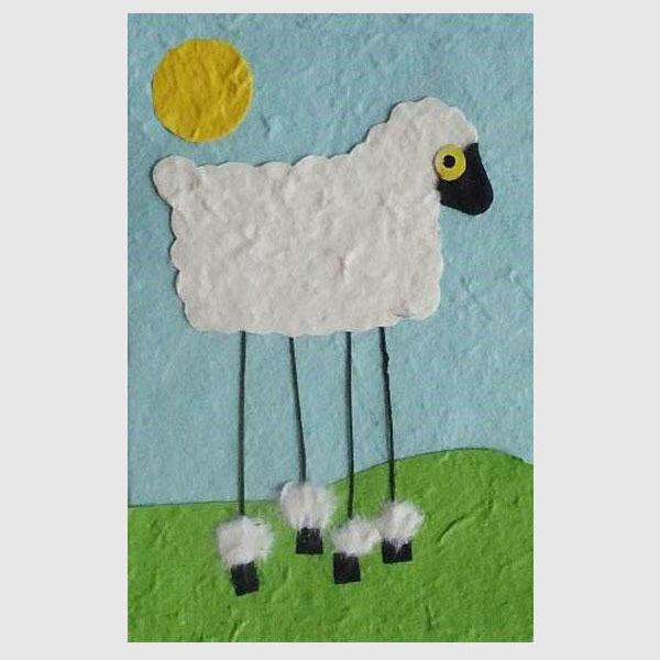 Animal Card - Sheep