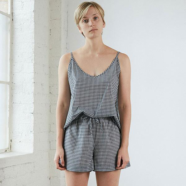 Summer Set  - Navy Gingham