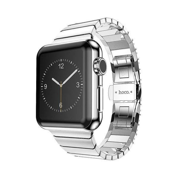 Simple Edition silver, 42 mm Apple Watch strap