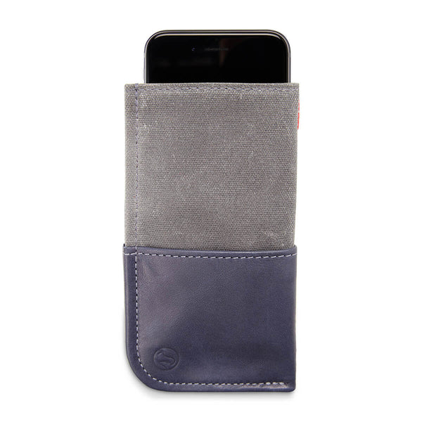Durables iPhone 6 wallet, blue