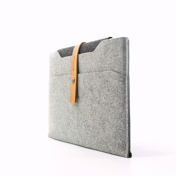 "MacBook felt sleeve 12-15"", grey"