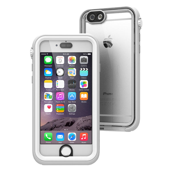 Waterproof iPhone 6s case, white
