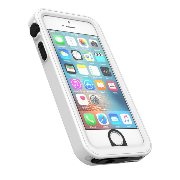 pretty nice 41345 45b79 Waterproof iPhone SE case, white
