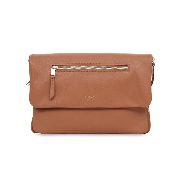 Elektronista Clutch with battery, caramel