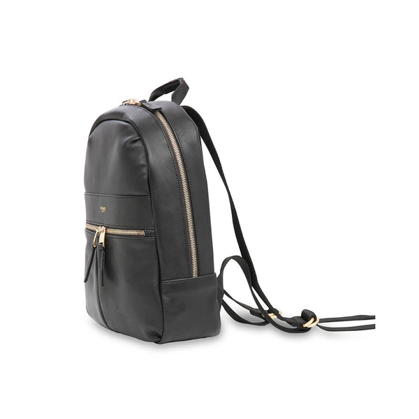 Mini Beaux Small Leather Backpack, black