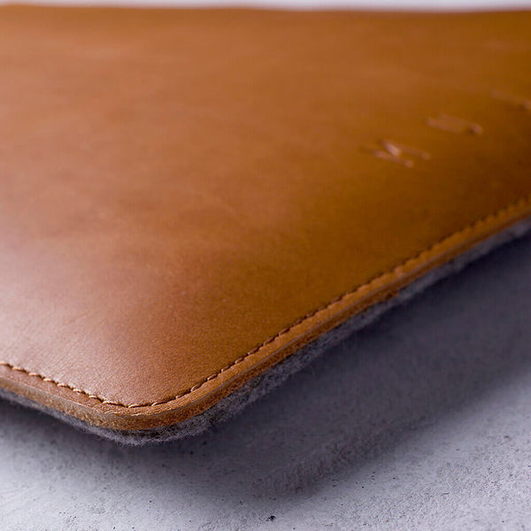 "Folio Sleeve 13"", tan"