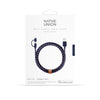 Belt Cable TwinHead 2m, nautical