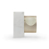 Apple Watch dock - marble edition, white