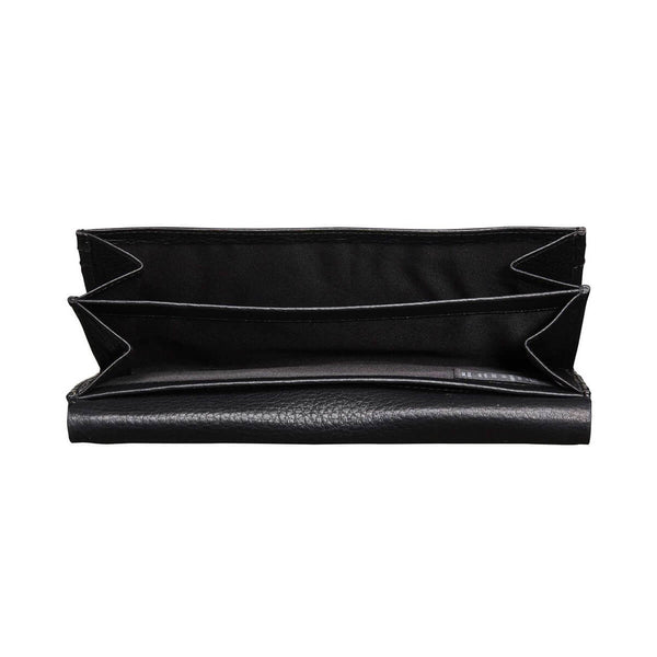 Eder purse with iPhone pocket, black