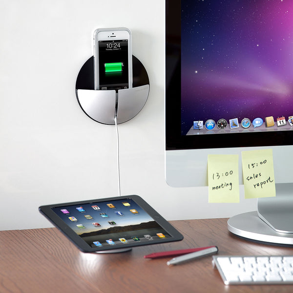 AluPocket iPhone wall mount