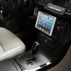 CD-slot car mount for iPad