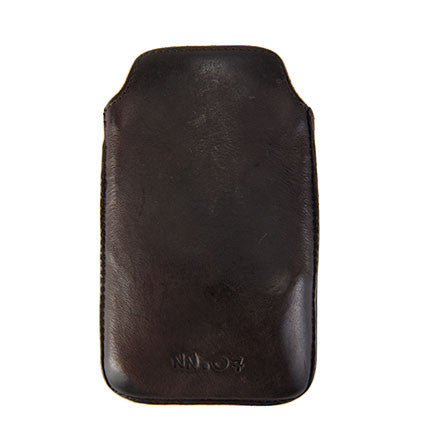Licata iPhone 4 cover, dark brown