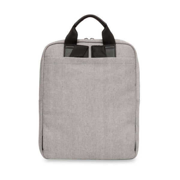 "James 15"" Tote Backpack, grey"