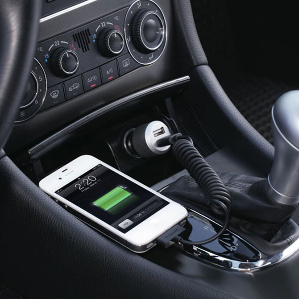 Highway car charger with lightning cable