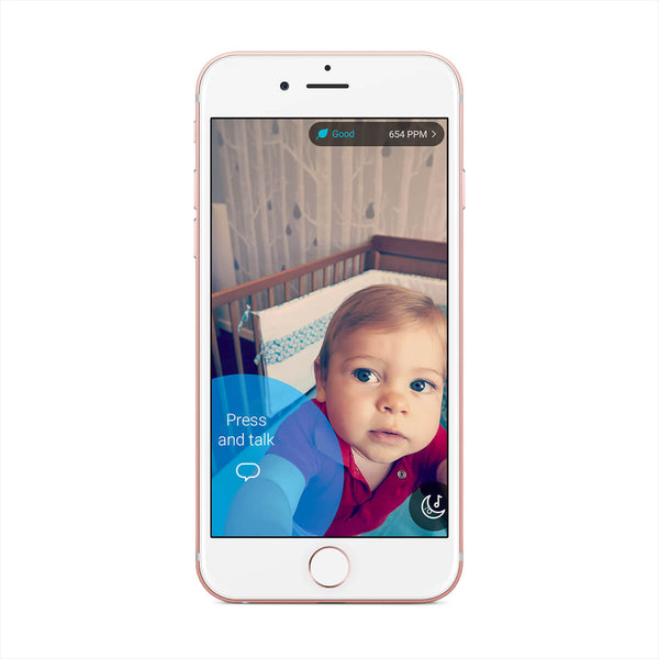 Home security camera & baby monitor