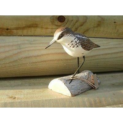 Archipelago Wood Carving Little Stint Running Bird Birds Waders