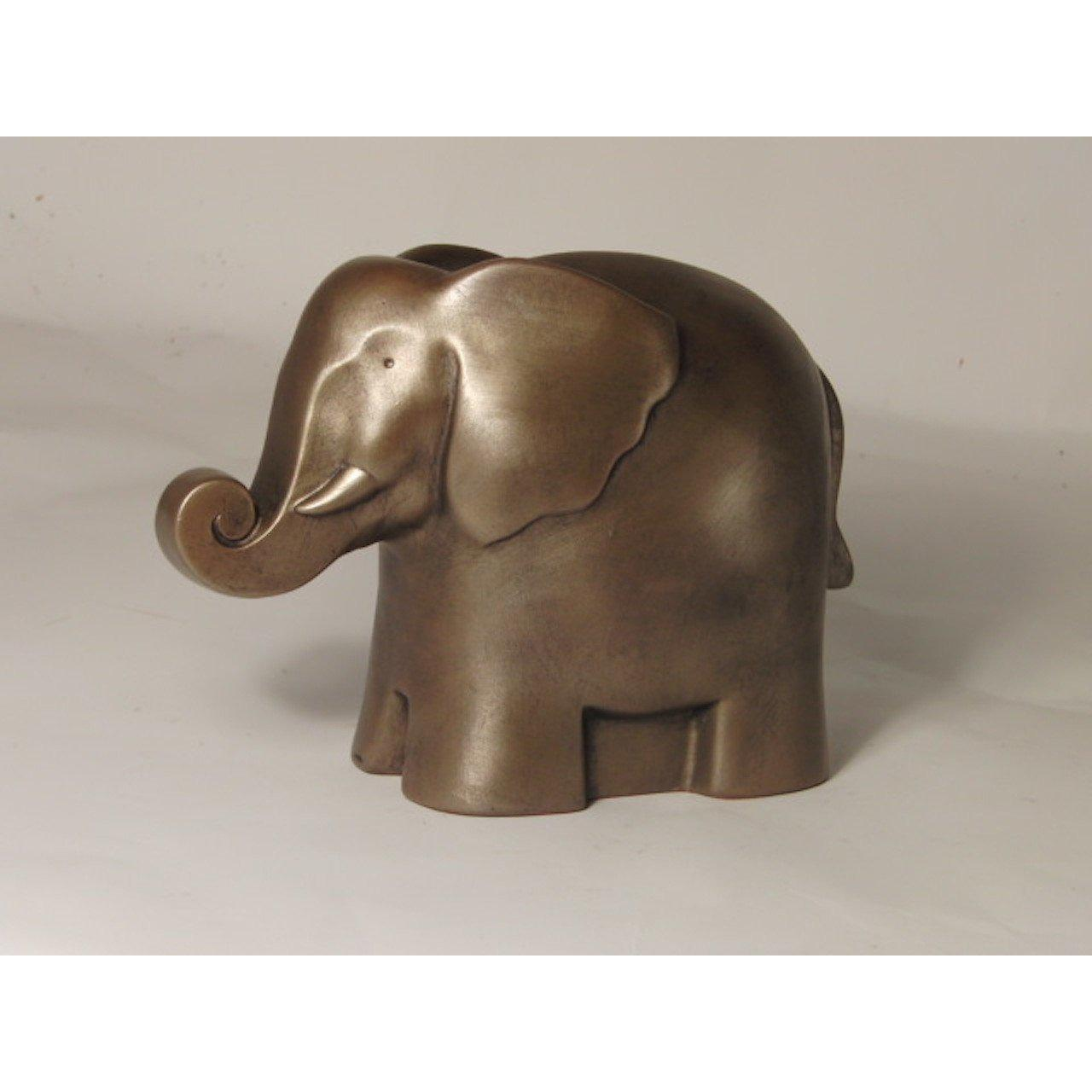 Frith Sculpture ELEPHANT - ART DECO STYLE in cold cast bronze - AT023