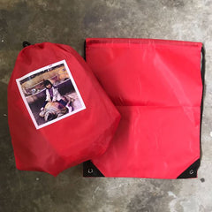 Custom Photo  on Draw string Bag