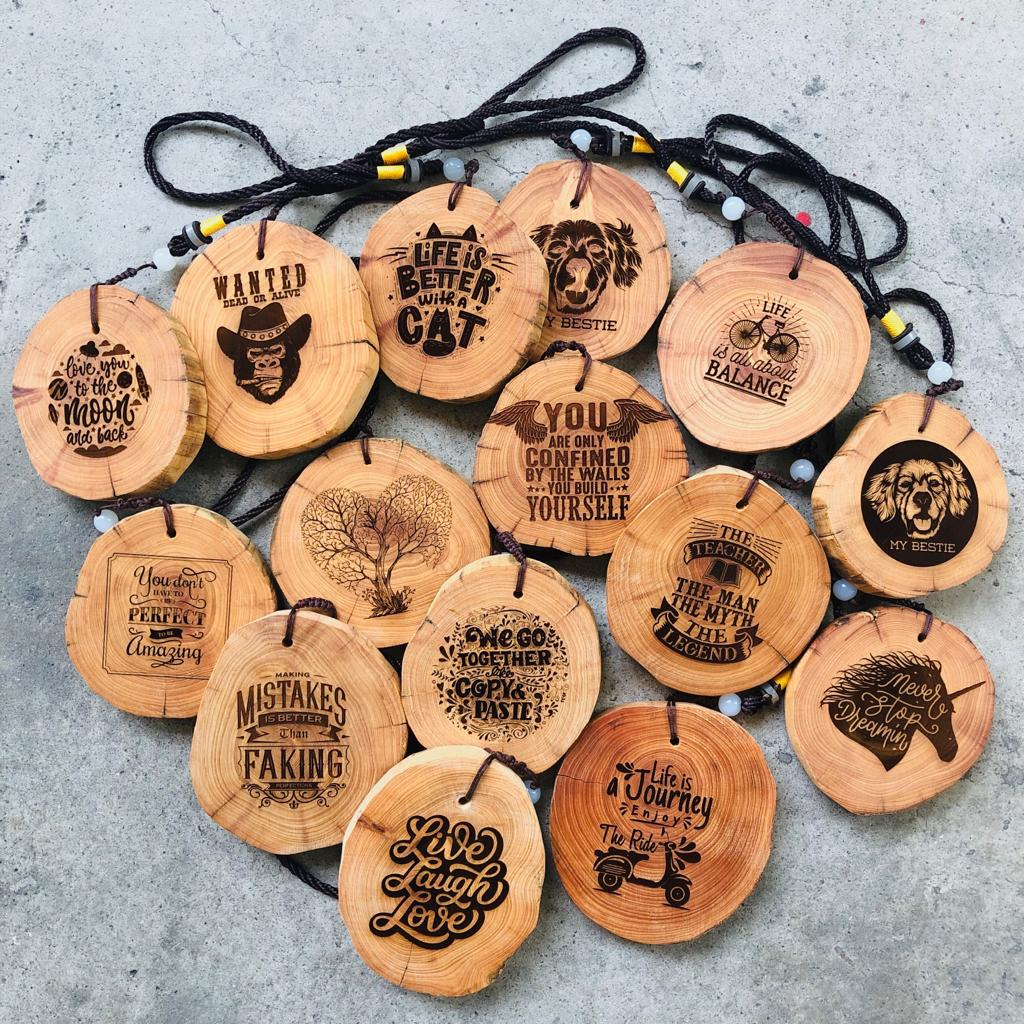 Wooden Charm