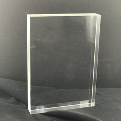 "7"" Acrylic Block Plaque"