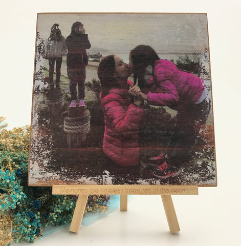 Rustic Photo on Wood