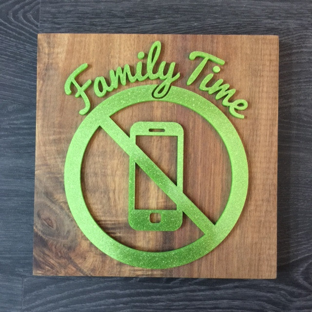 Household Signage ( Family Time )