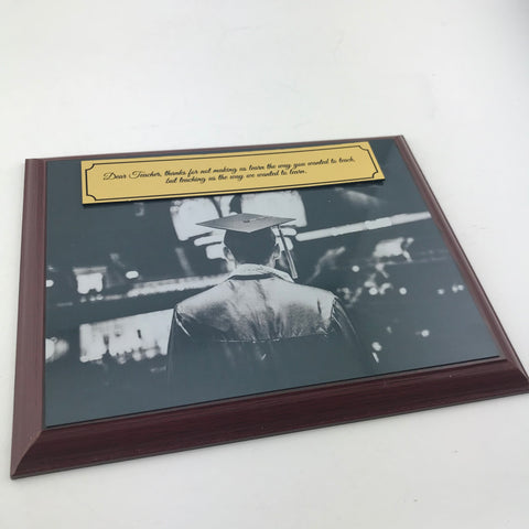 Appreciation Plaque for Teacher