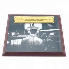 Appreciation Plaque for Teacher with Custom Image