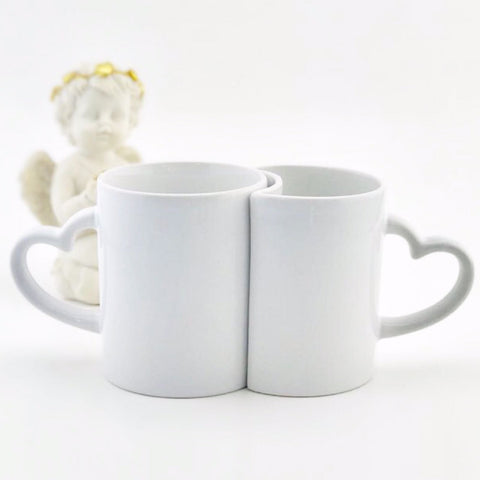 Couple Mugs - Personalised with your own text or image