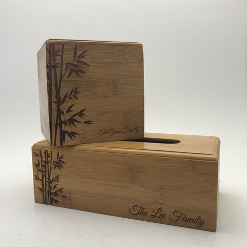 Wooden Tissue Holder