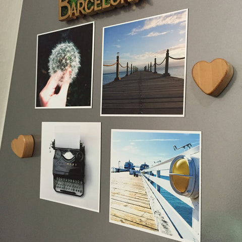 "Photo Fridge Magnets -  4 pcs of (4""x 4"") Photo Magnets"