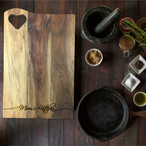 Custom Wooden Kitchen Board (Design - Mom's Kitchen)